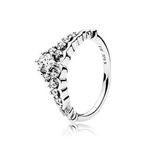 PANDORA Fairytale Tiara Ring, Clear CZ